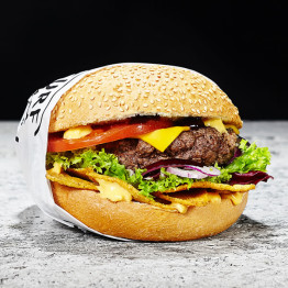 Burger Nacho